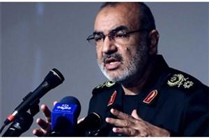 سردار سلامی: ملت ایران همیشه بر پای آرمانها ثابت قدم هستند