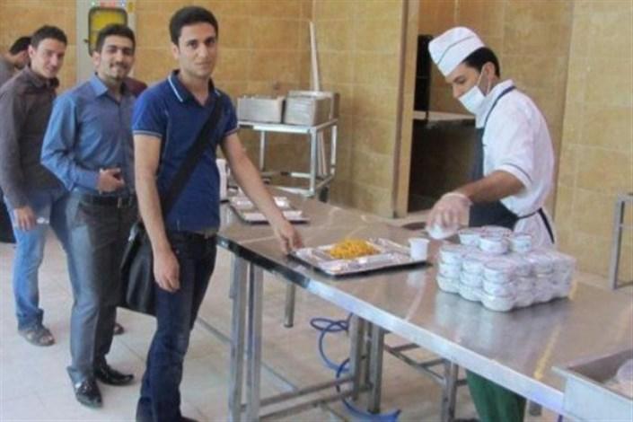 دانشجویان در سلف دانشجویی