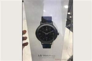 تصاویر ساعت هوشمند ال جی واچ استایل فاش شد