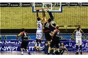 پیروزی تیم بسکتبال  دانشگاه آزاد اسلامی مقابل پتروشیمی بندر امام