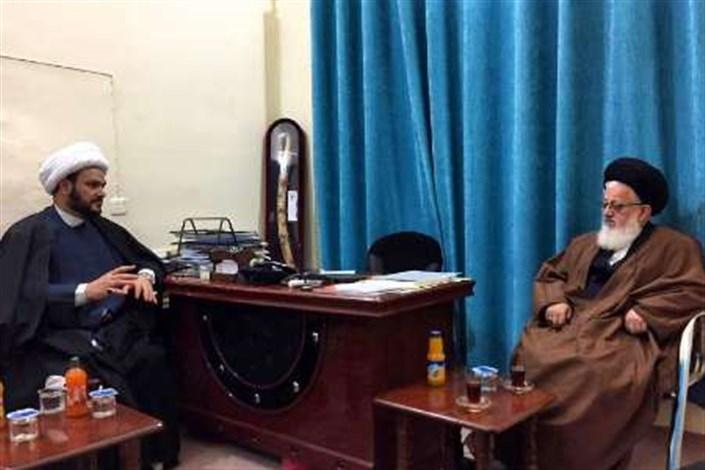 در دیدار دبیرکل نجبا با نماینده مقام معظم رهبری در عراق بررسی شد؛