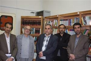 کتابخانه تخصصی دفاع مقدس در دانشگاه آزاد اسلامی شهرضا افتتاح شد