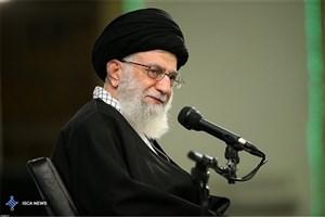 جمعی از مداحان و ذاکران اهلبیت علیهمالسلام  با رهبر انقلاب دیدار می کنند