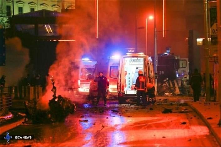 انفجار تروریستی در ترکیه