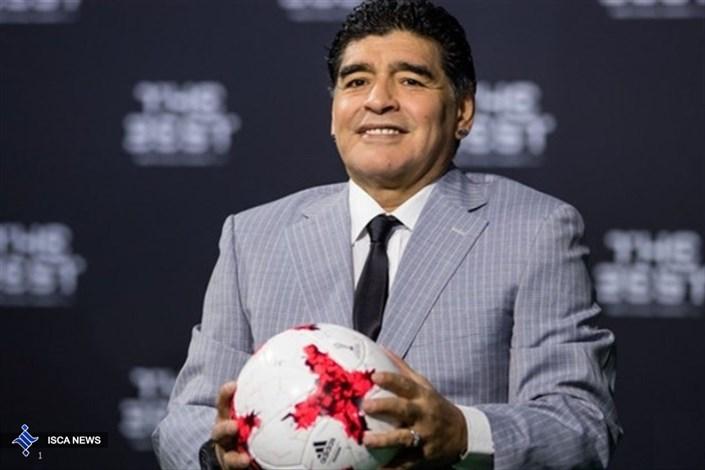 پاسخ قاطع مارادونا به ادعای عجیب کریستیانو رونالدو