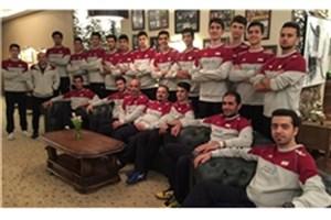 تیم ملی والیبال نوجوانان به ایران بازگشت