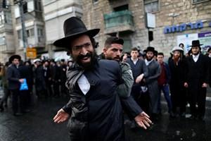 تظاهرات یهودیان چپ گرا در مخالفت با سیاست های نتانیاهو در مسجد الاقصی