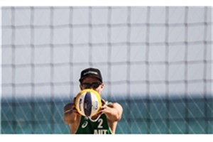 2 پیروزی و یک شکست برای نمایندگان  والیبال ساحلی