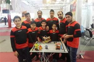 مقام چهارم مسابقات نمایشگاه اختراعات و ابتکارات دانشگاه صنعتی نوشیروانی
