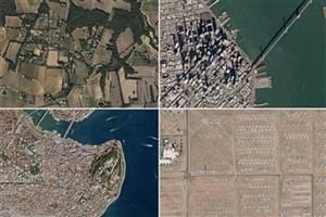 تهیه عکس زمین با وضوح ۵۰ هزار میلیارد پیکسل