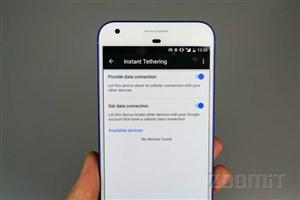 آغاز عرضه قابلیت Instant Tethering برای گوشی های سری پیکسل و نکسوس