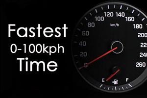 سریعترین زمان ممکن برای رسیدن به سرعت 100 کیلومتر بر ساعت