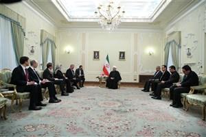 رئیس جمهوری: ایران از تعمیق روابط با کشورهای عضو اتحادیه اروپا در همه حوزه ها استقبال می کند