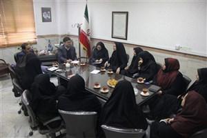 حضور رئیس مرکز فرهنگی و آموزشی و دبیر شورای نظارت و هماهنگی سما استان تهران