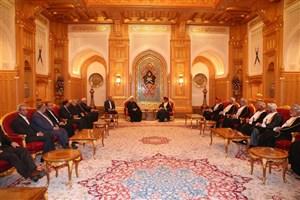 رییس جمهوری: اراده سیاسی ایران و عمان تحکیم هر چه بیشتر مناسبات دوستانه است