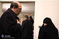 دیدار اعضای هیات رئیسه دانشگاه آزاد اسلامی با خانواده آیتالله هاشمی رفسنجانی