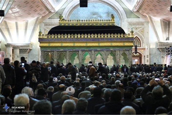 مراسم هفتمین روزدرگذشت آیت الله هاشمی رفسنجانی در حرم مطهر امام(ره)-1