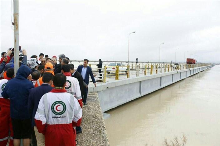 رودخانه و پل مند