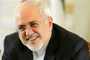 پیام تبریک ظریف به مناسبت پیروزی تیم ملی فوتبال ایران