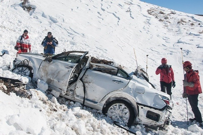 برف و کولاک 5 استان کشور را در نوردید