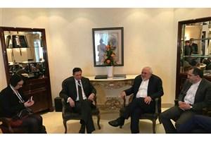 دیدار وزیر امور خارجه با رئیس جمهور اسلوونی