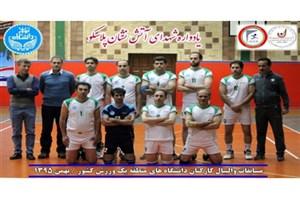 والیبال کارکنان دانشگاه تهران نایب قهرمان شد