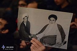 مراسم بزرگداشت چهلمین روز درگذشت آیت الله هاشمی در دانشگاه تهران