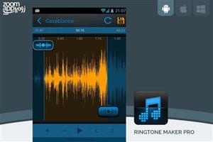 برنامه Ringtone Maker Pro: ساخت رینگتون و زنگ تماس در اندروید