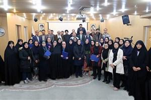 تجلیل از نفرات برتر مسابقات قرآن وعترت واحد کرج