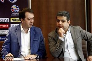 جلسه مدیران تیم فوتبال پرسپولیس با مسوول AFC
