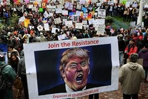 گالوپ: کاهش محبوبیت ترامپ