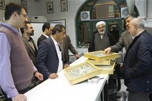 بازدید جمعی از نمایندگان مجلس شورای اسلامی از واحد علوم و تحقیقات
