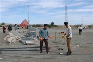 آمادگی کامل دانشگاه آزاد اسلامی واحد کهنوج جهت تدفین دو شهید گمنام