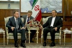 جهانگیری: ایران از مشارکت شرکتهای روسی در اجرای پروژههای نفت و گاز استقبال میکند