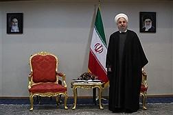 دیدار های امروز دکتر روحانی