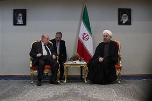رییس جمهوری:  جمهوری اسلامی ایران همواره مساله فلسطین را در صدر مسایل دنیای اسلام می داند