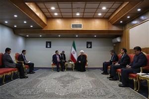 رئیس جمهوری: تقویت روابط تهران – امان به نفع مردم دو کشور و منطقه است