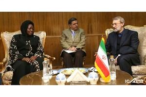 لاریجانی : آرامش و امنیت حق مردم مظلوم فلسطین است