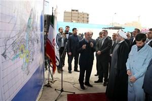 بازدید روحانی از تصفیه خانه آب شماره ٢ اهواز