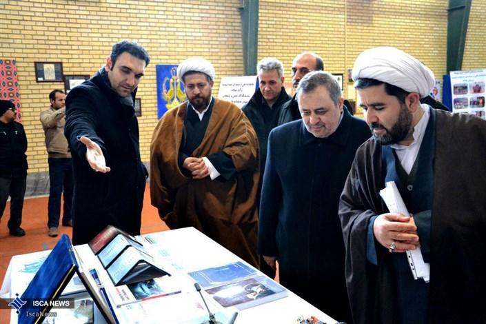 نمایشگاه علمی و پژوهشی آموزشگاه سما در دانشگاه آزاد واحد ارومیه افتتاح شد
