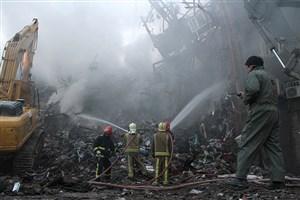 انفجار برنامهریزی شده یا گسترده در پلاسکو را تایید نمیکنیم