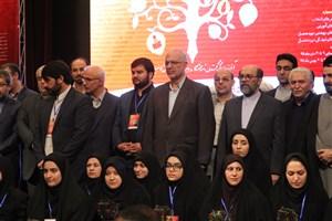 دانشجوی مقطع کارشناسی رشته حقوق واحد بوئین زهرا موفق به کسب جایزه ملی ایثار شد
