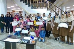 کارگاه آموزش ساخت سازه ماکارونی دانش آموزان سما بندرعباس
