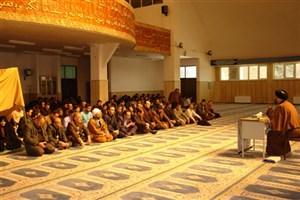 برگزاری مراسم عزاداری شهادت حضرت زهرا (س)در دانشگاه آزاد اسلامی واحد ابهر