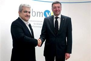 دیدار معاون علمی وفناوری ریس جمهوری و وزیر حمل و نقل و نوآوری اتریش