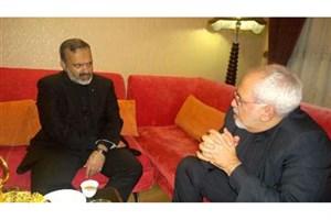 دیدار وزیر امور خارجه و استاندار خراسان رضوی در مشهد