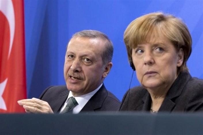 رجب طیب اردوغان آنگلا مرکل