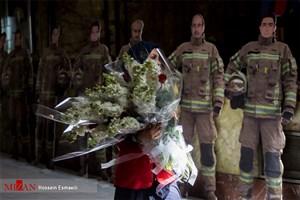 اربعین شهدای آتش نشان پلاسکو برگزار میشود