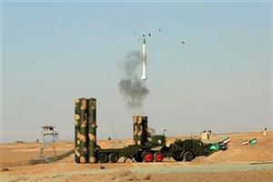 آزمایش عملیاتی سامانه پدافندی اس 300 با موفقیت انجام شد