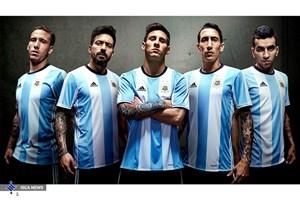 آرژانتین برای اولین بار سیاهپوش میشود